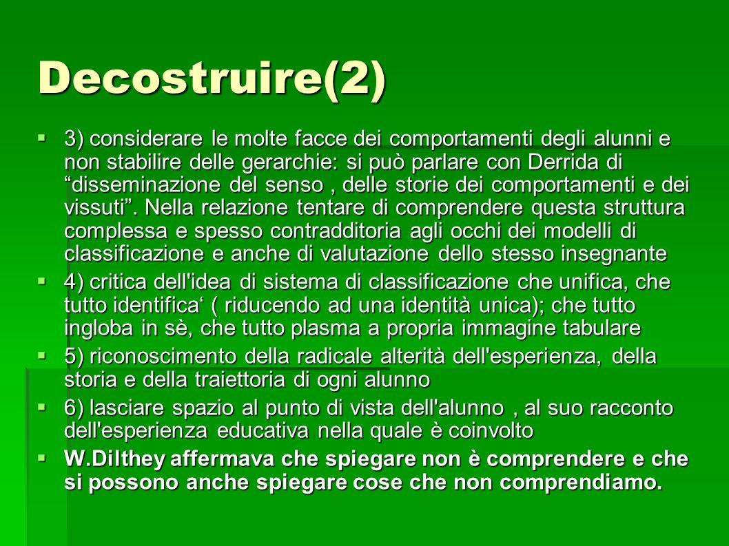 Decostruire(2)