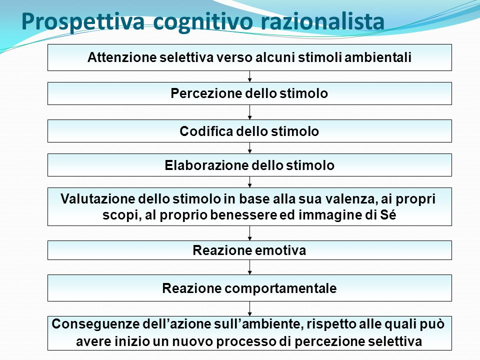 Prospettiva cognitivo razionalista
