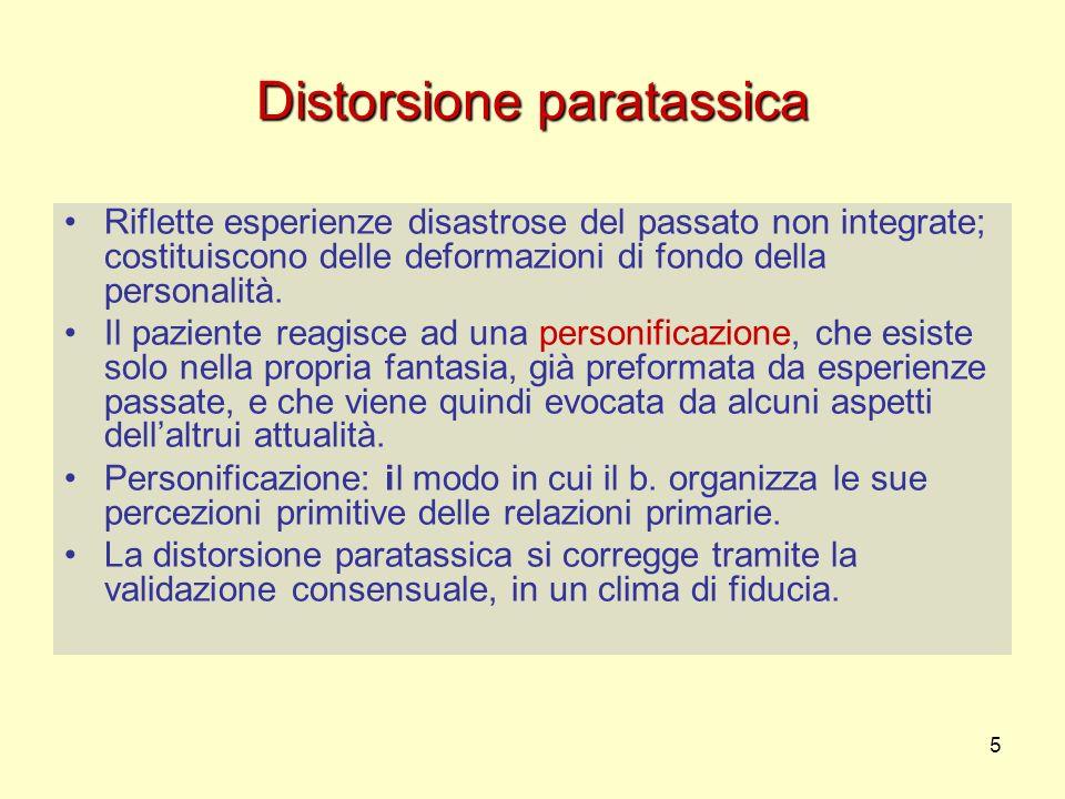 Distorsione paratassica
