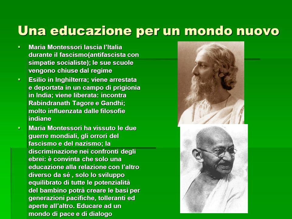 Una educazione per un mondo nuovo