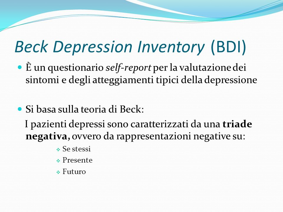 beck depression and anxiety inventory pdf