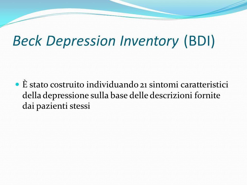 Beck Depression Inventory (BDI)