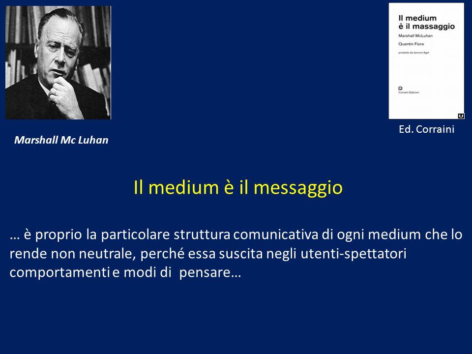 Il medium è il messaggio