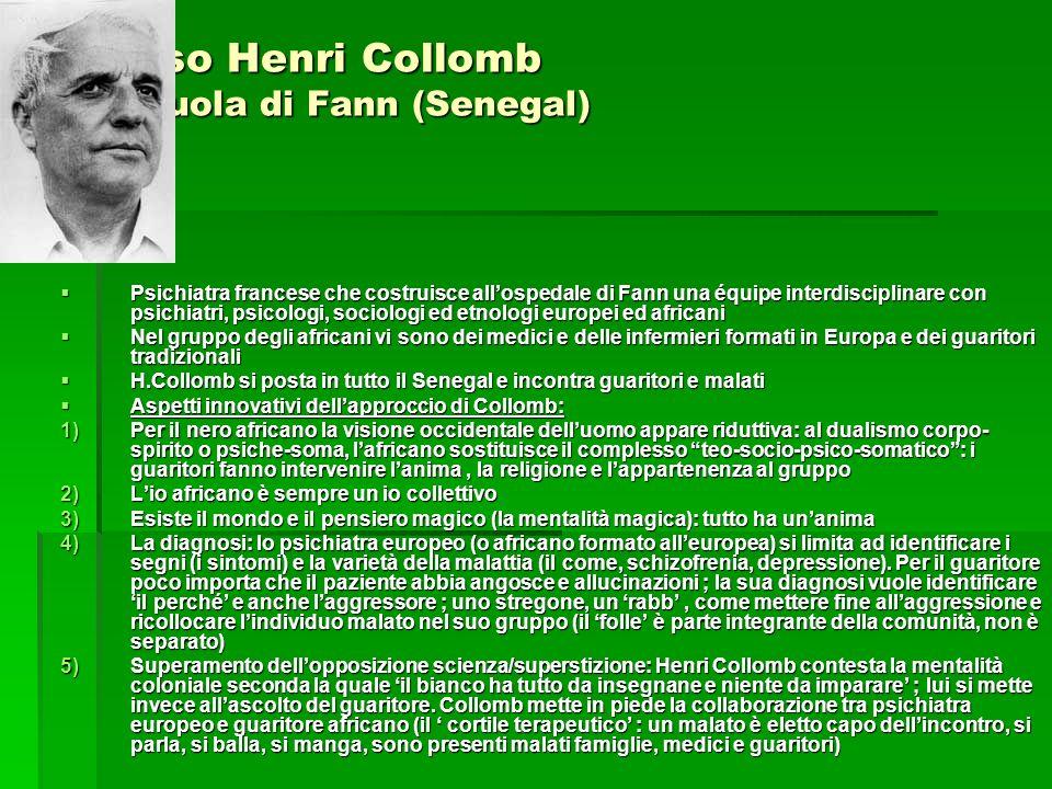 Il caso Henri Collomb La scuola di Fann (Senegal)