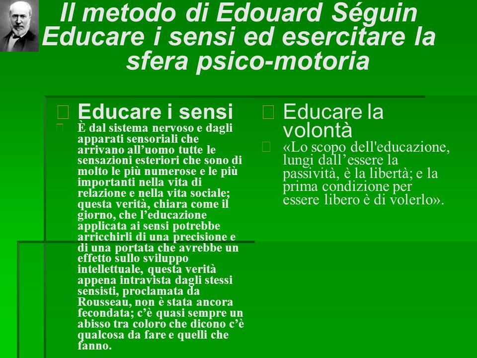 Il metodo di Edouard Séguin