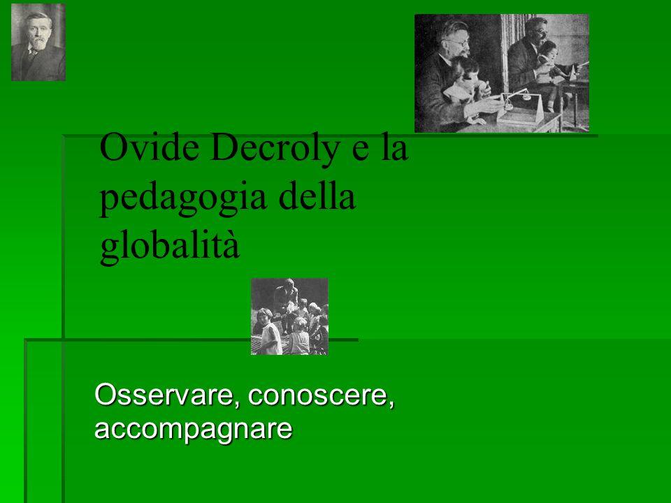 Ovide Decroly e la pedagogia della globalità
