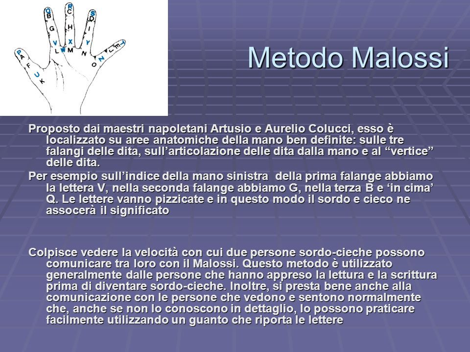 Metodo Malossi