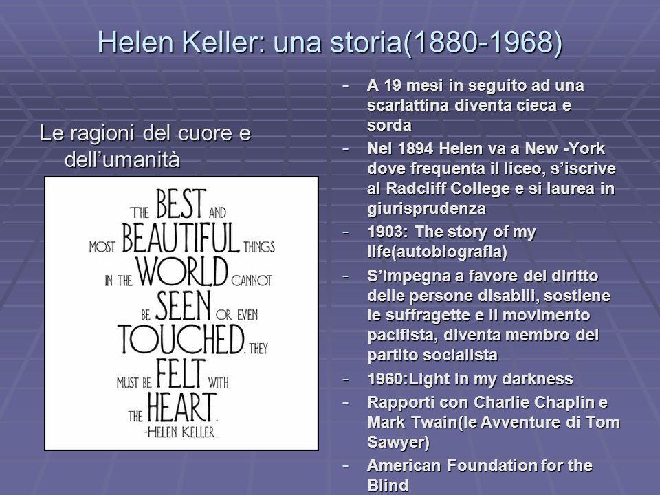 Helen Keller: una storia(1880-1968)