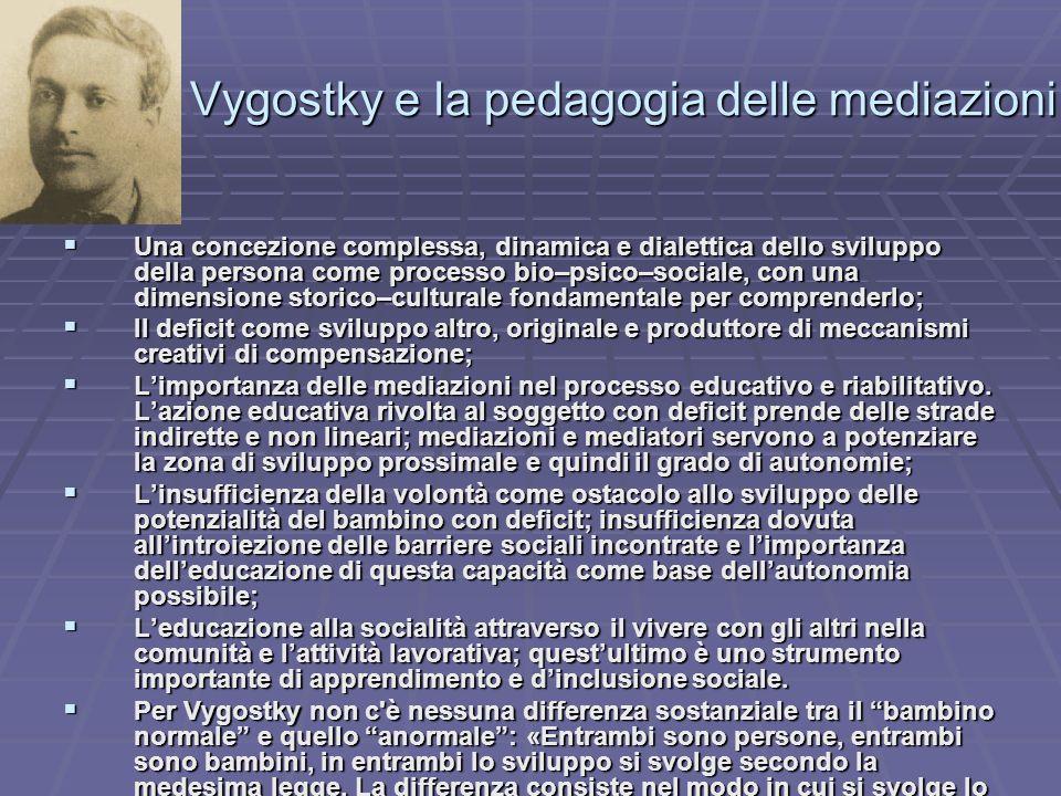 Lev Vygostky e la pedagogia delle mediazioni