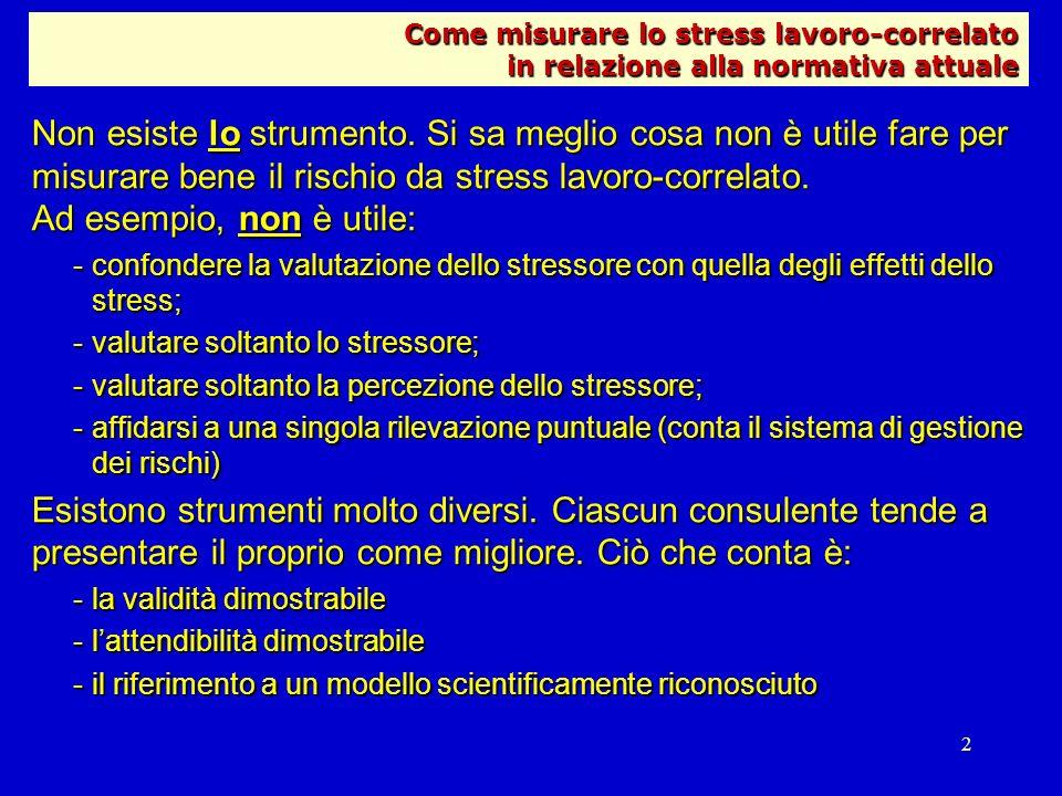 Come misurare lo stress lavoro-correlato in relazione alla normativa attuale