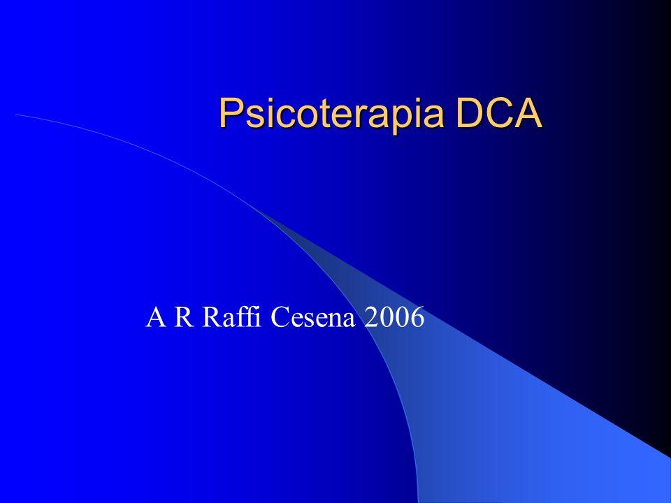 Psicoterapia DCA A R Raffi Cesena 2006