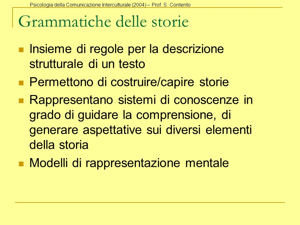 Grammatiche delle storie
