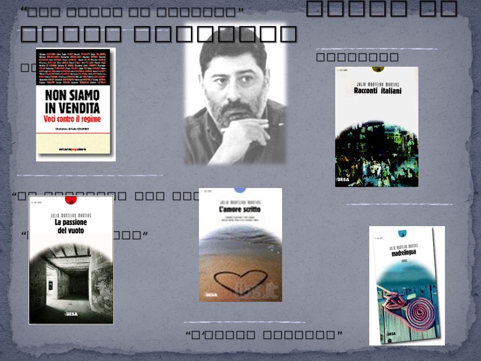 NON SIAMO IN VENDITA Libri di Julio Monteiro