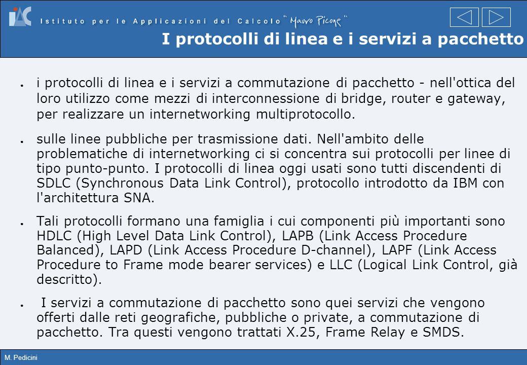 I protocolli di linea e i servizi a pacchetto