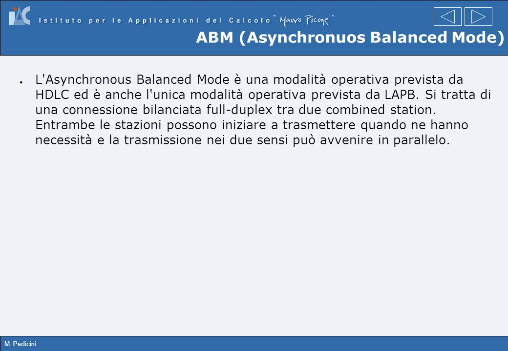 ABM (Asynchronuos Balanced Mode)