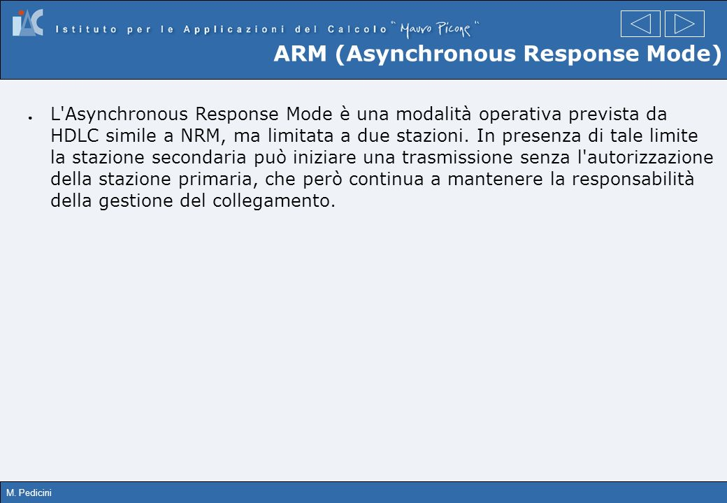 ARM (Asynchronous Response Mode)