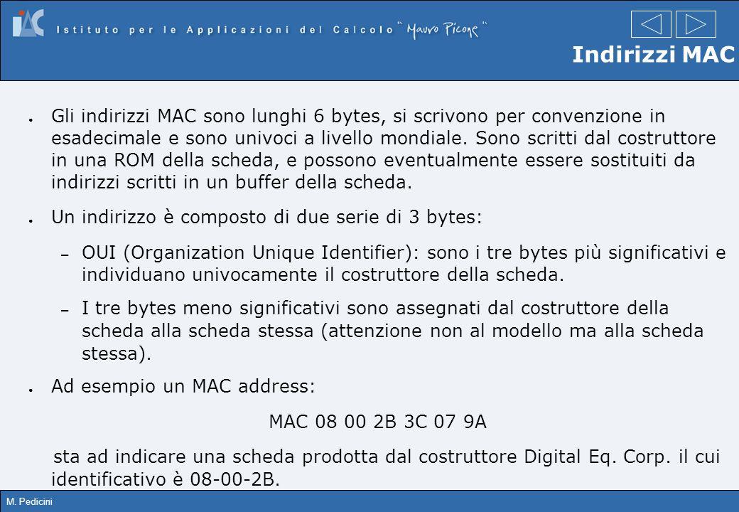Indirizzi MAC