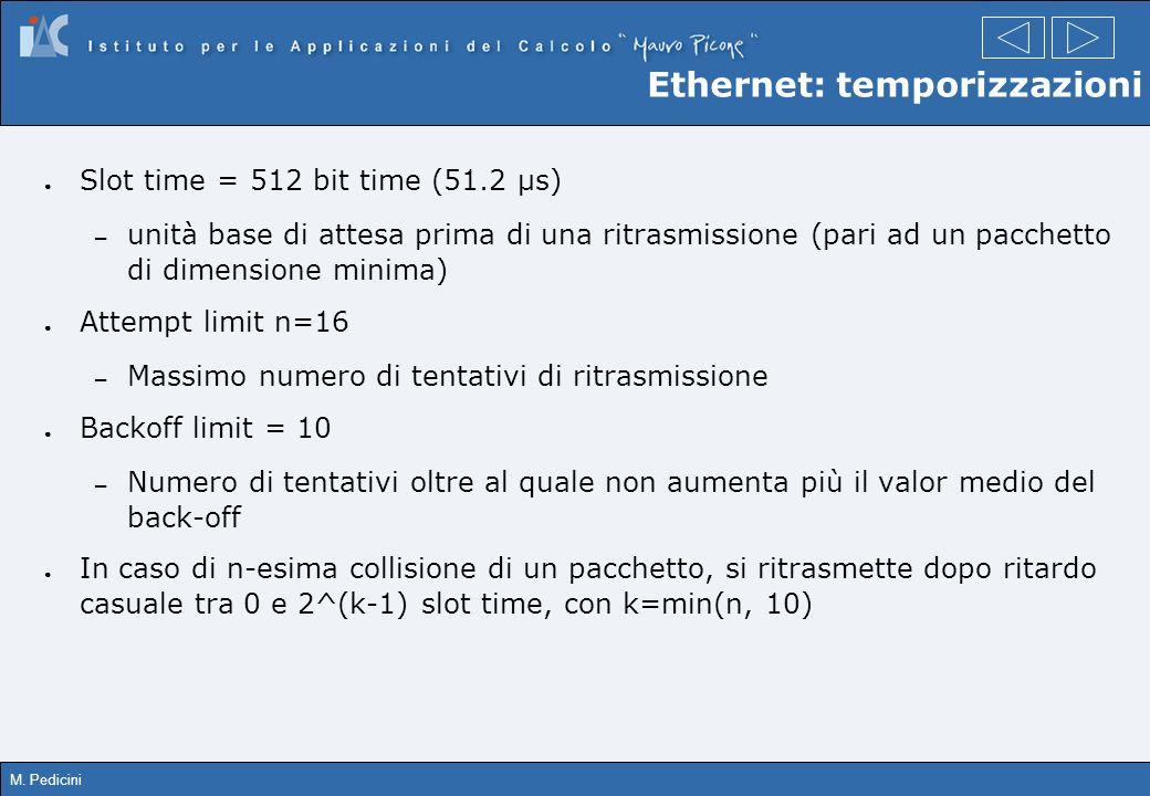 Ethernet: temporizzazioni