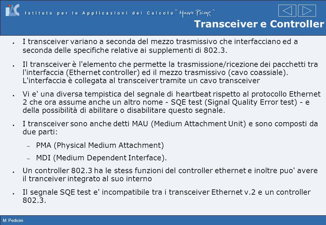 Transceiver e Controller