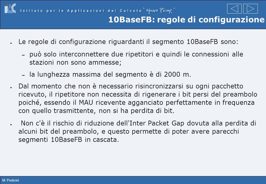 10BaseFB: regole di configurazione