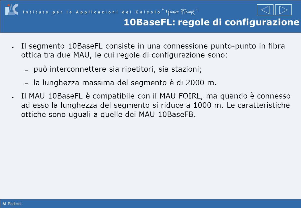 10BaseFL: regole di configurazione