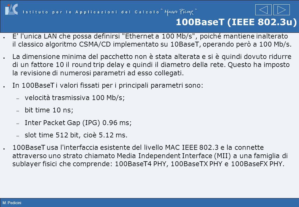 100BaseT (IEEE 802.3u)
