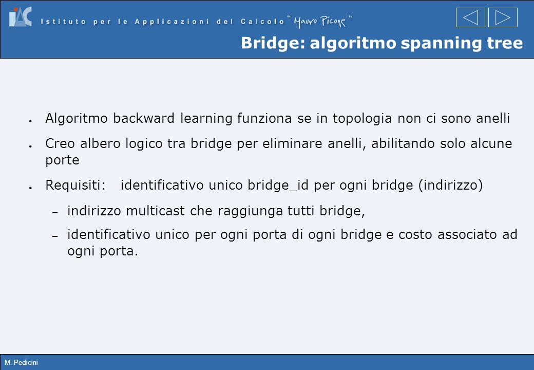 Bridge: algoritmo spanning tree