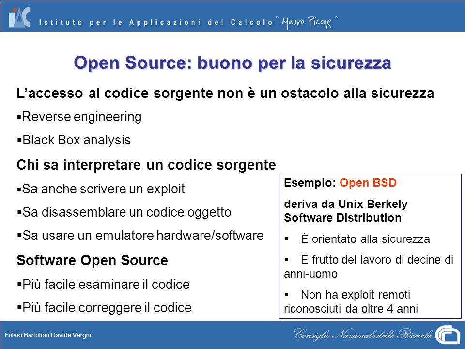 Open Source: buono per la sicurezza