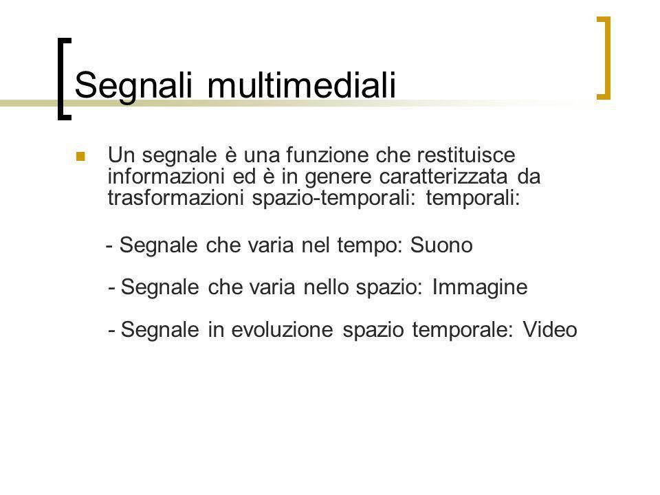 Segnali multimediali