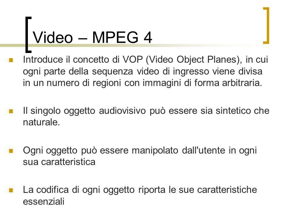 Video – MPEG 4