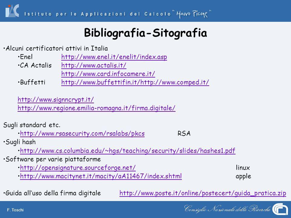 Bibliografia-Sitografia