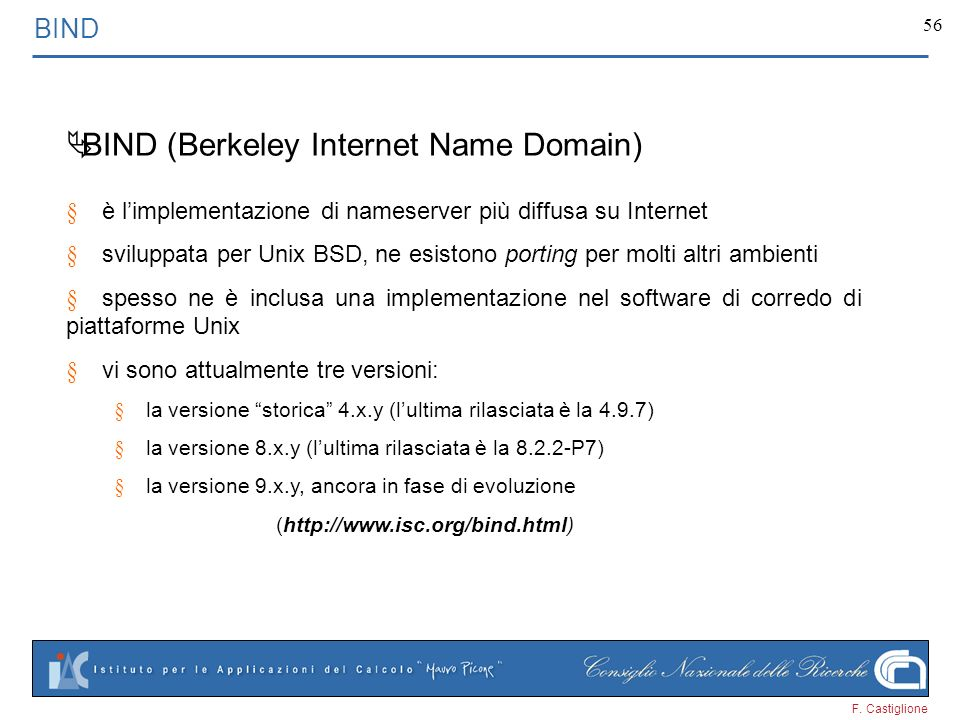 BIND (Berkeley Internet Name Domain)