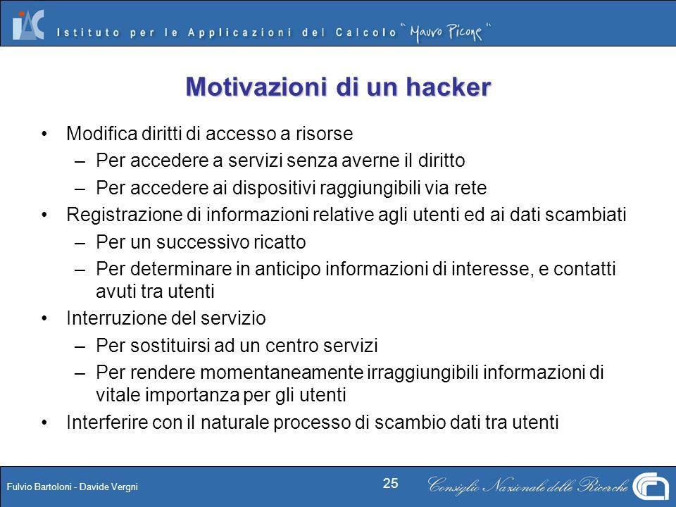 Motivazioni di un hacker
