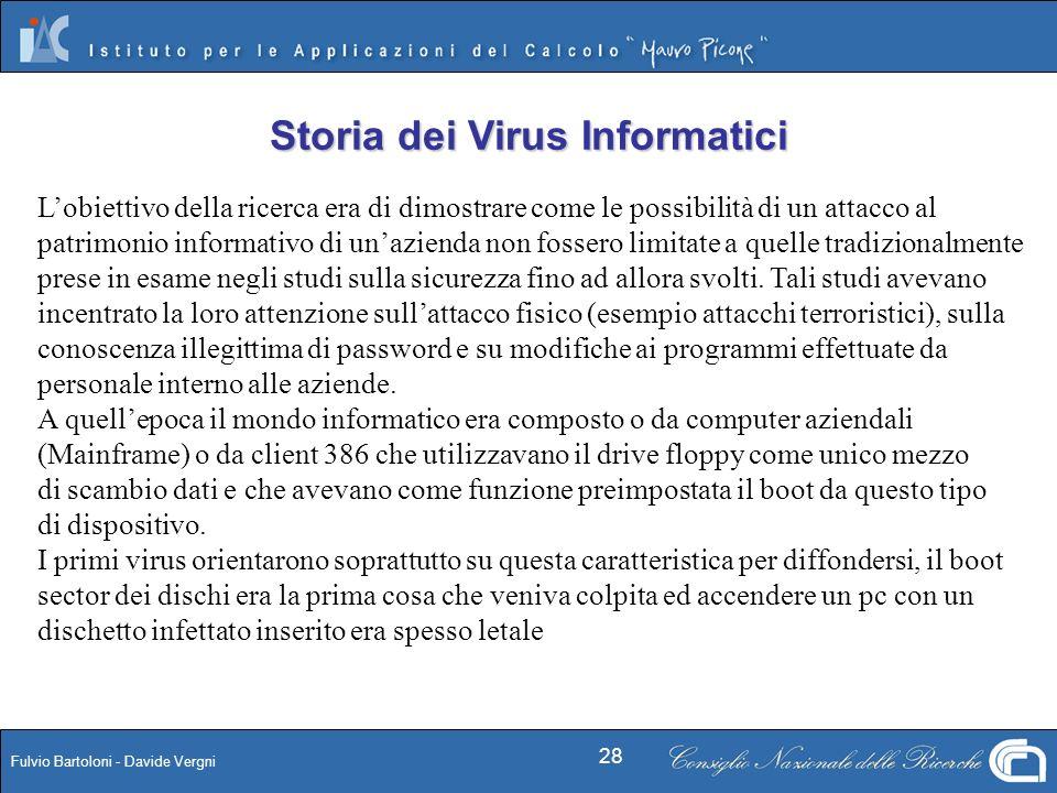 Storia dei Virus Informatici
