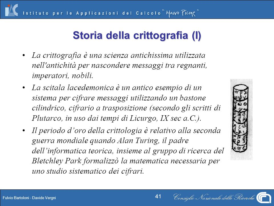 Storia della crittografia (I)