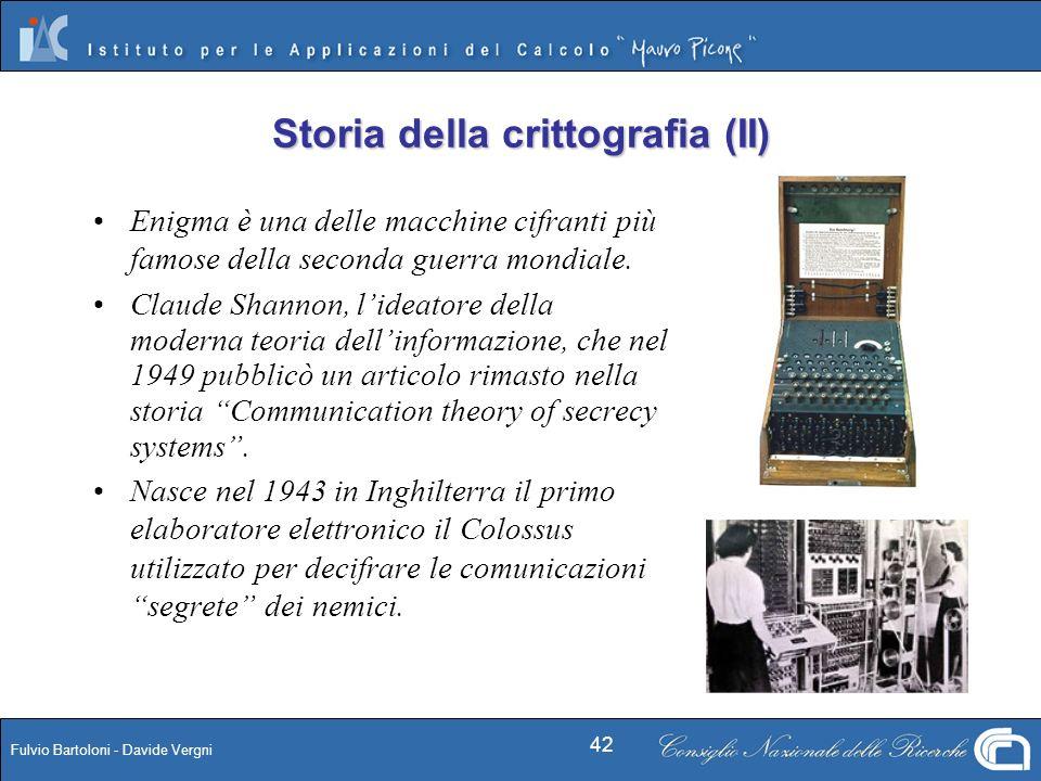 Storia della crittografia (II)