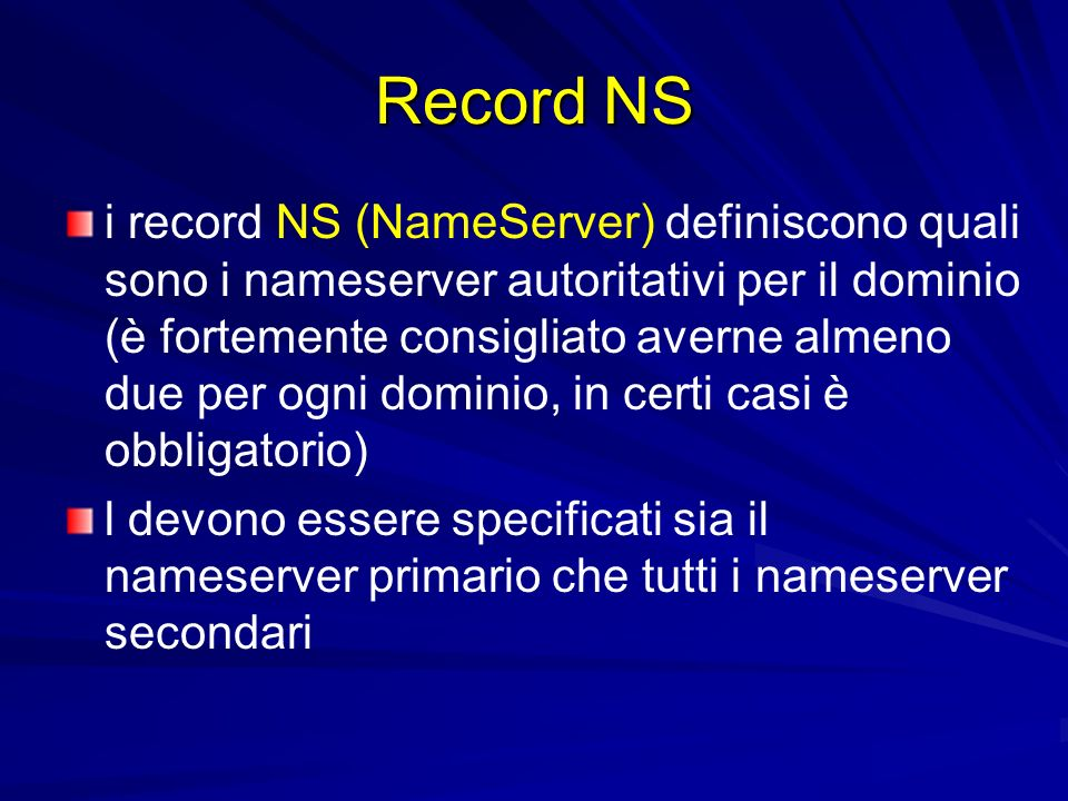 Record NS