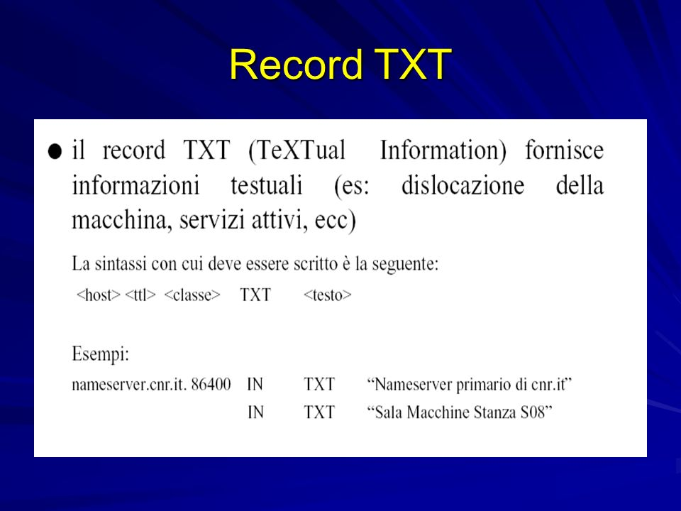 Record TXT