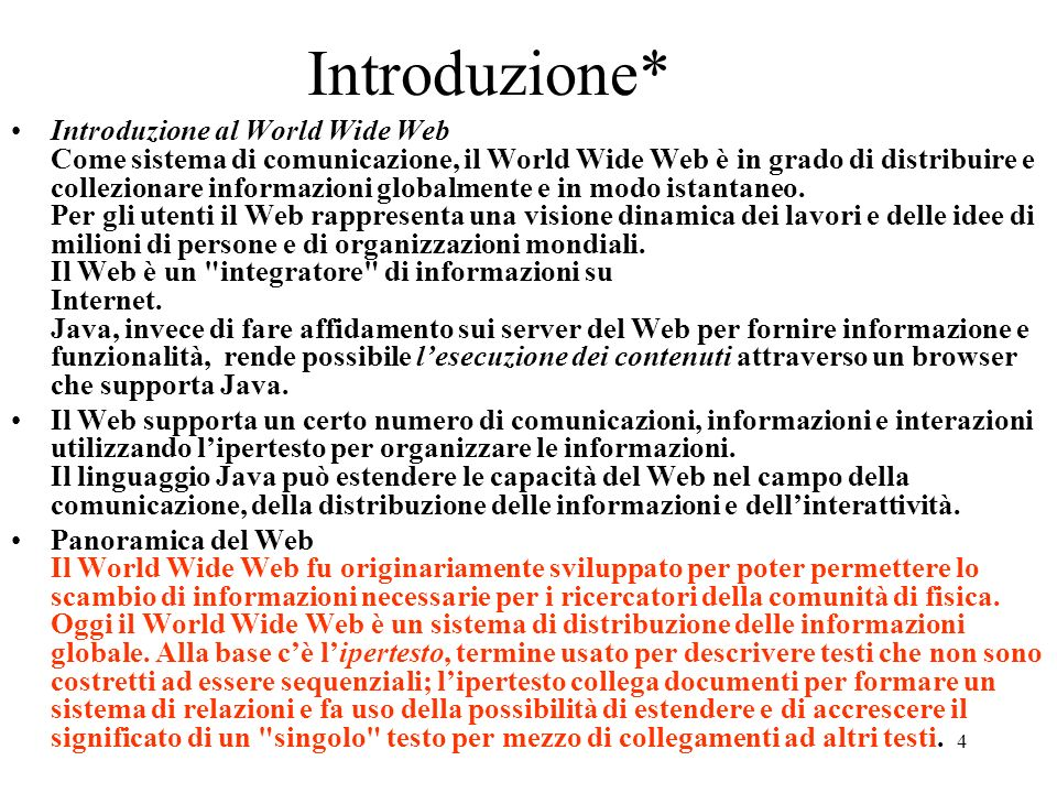 Introduzione*