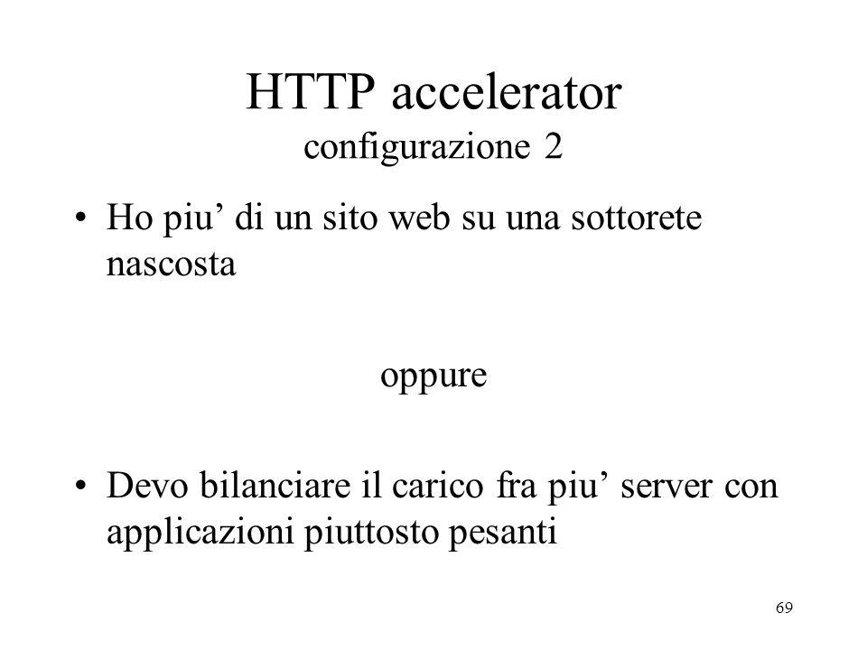 HTTP accelerator configurazione 2