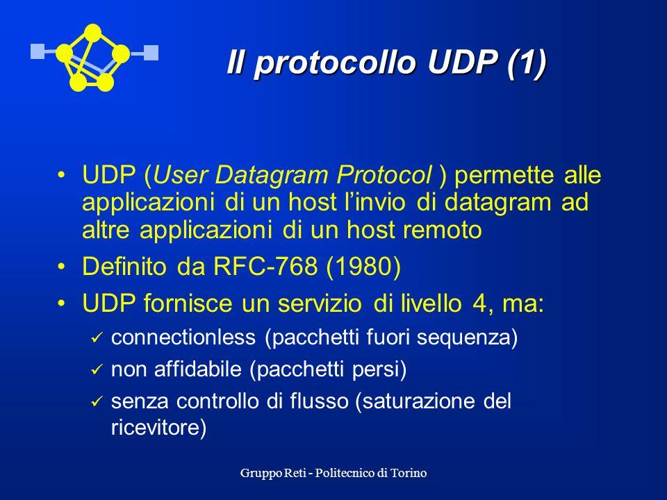 Gruppo Reti - Politecnico di Torino