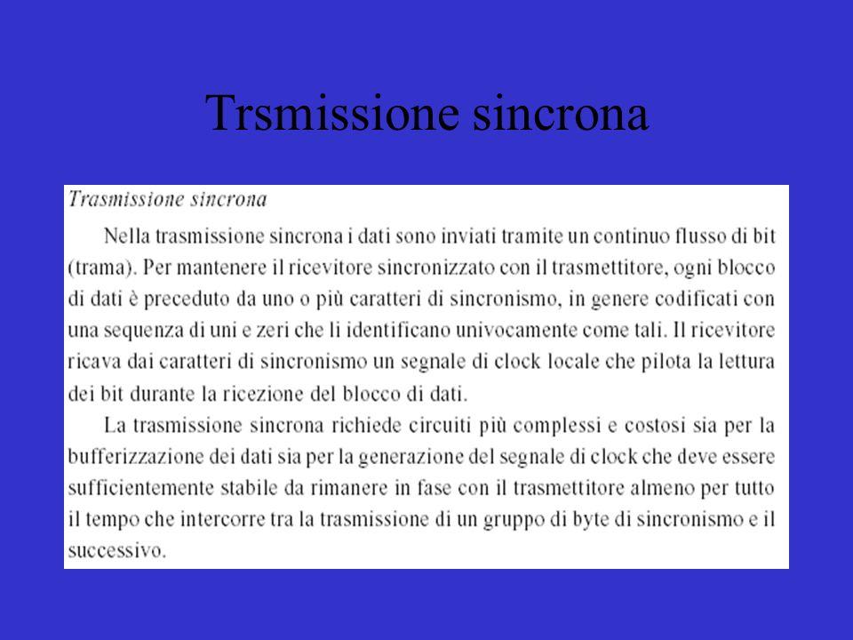 Trsmissione sincrona