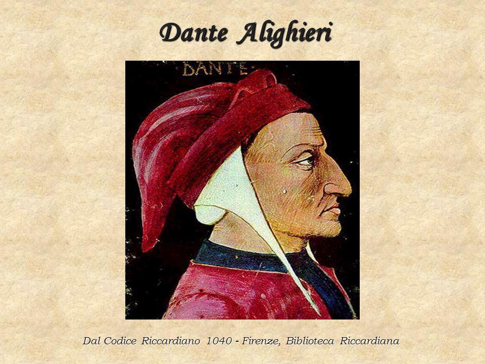 Dal Codice Riccardiano 1040 - Firenze, Biblioteca Riccardiana