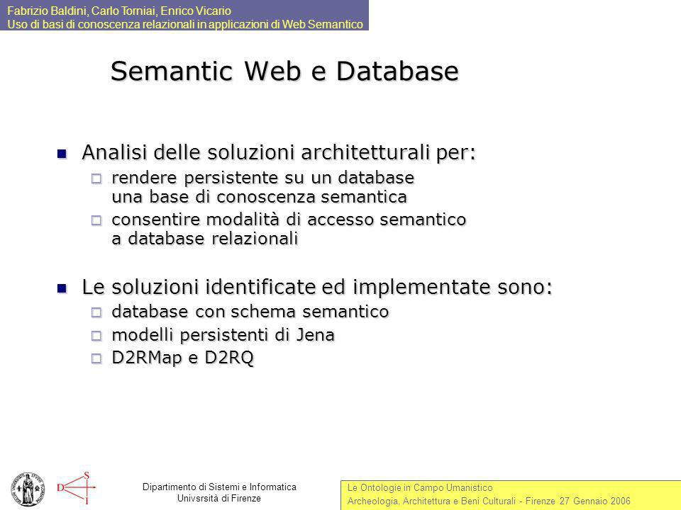 Semantic Web e Database