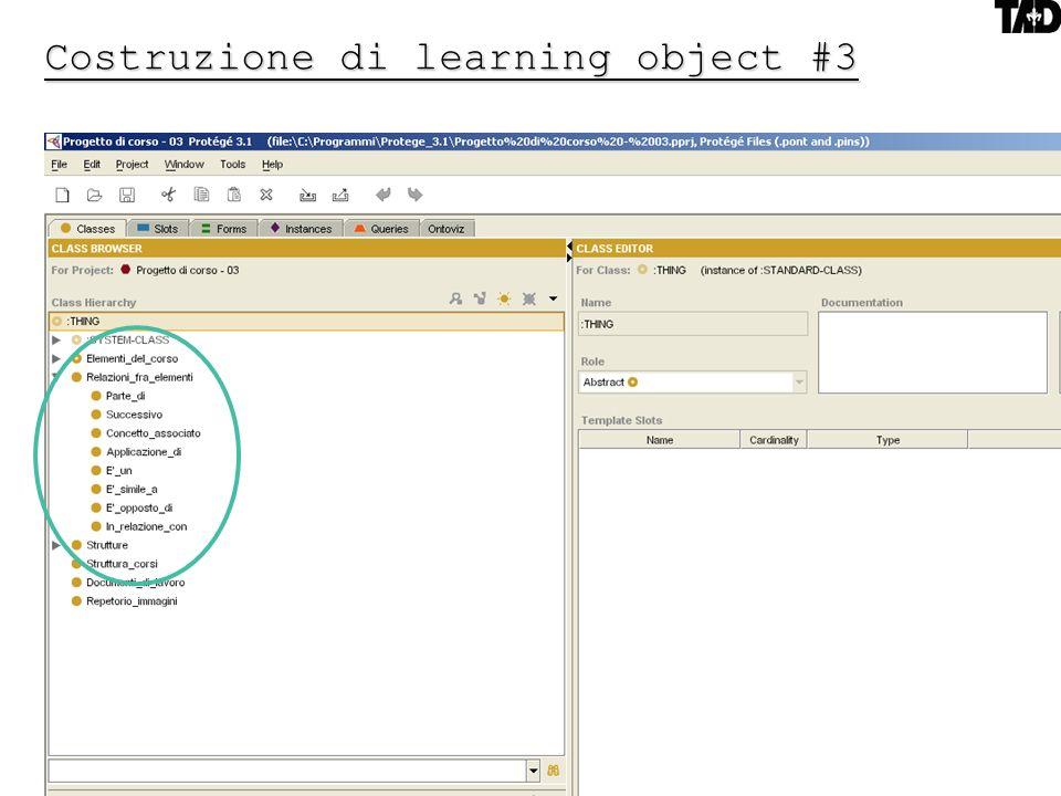 Costruzione di learning object #3