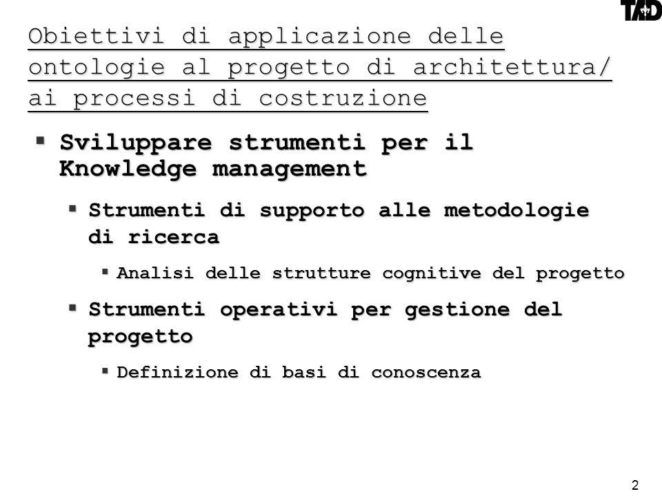 Sviluppare strumenti per il Knowledge management
