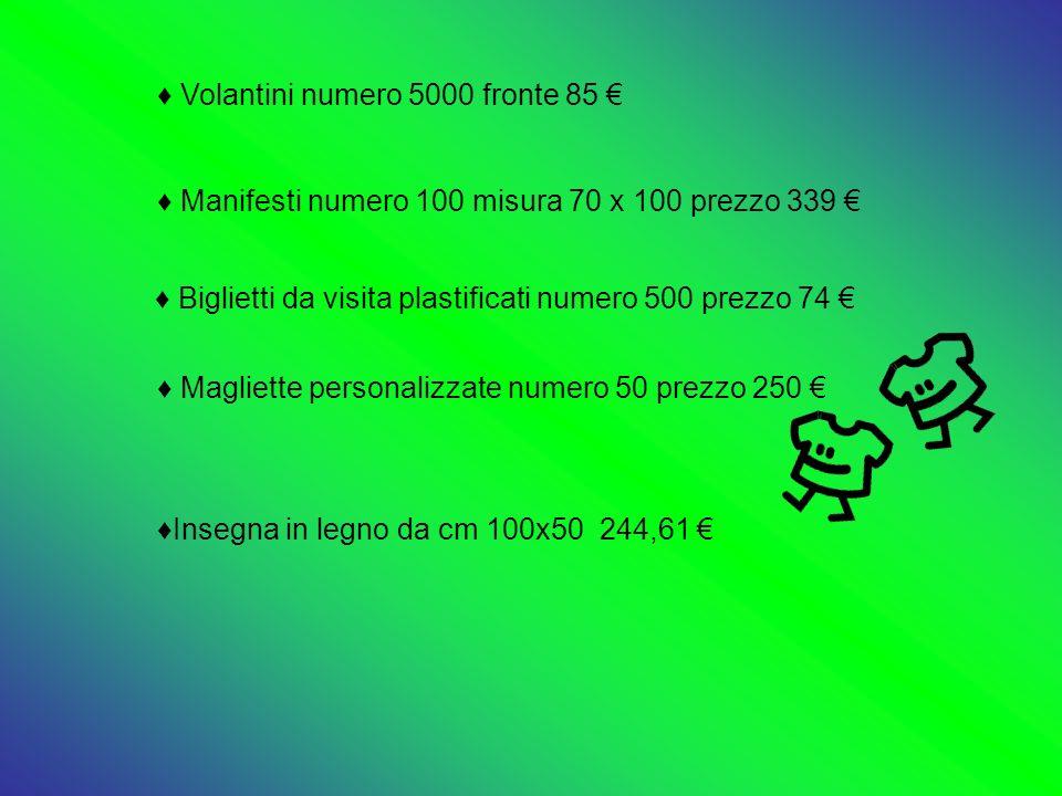 Biglietti da visita plastificati numero 500 prezzo 74 €