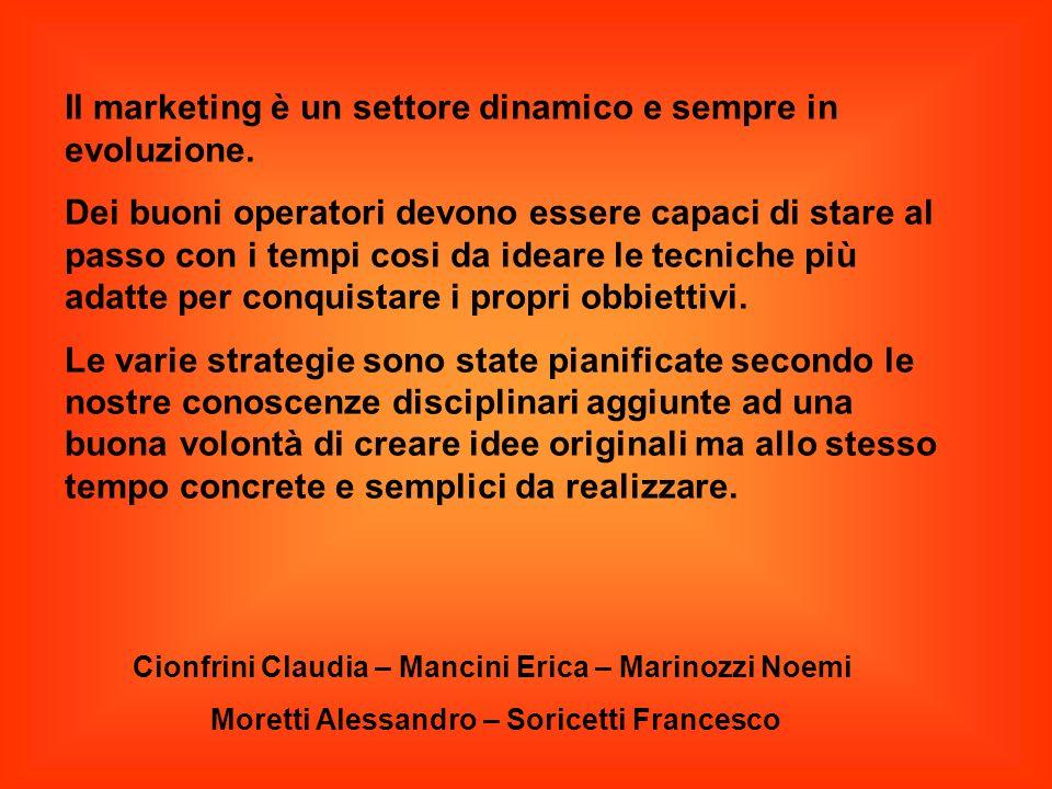 Il marketing è un settore dinamico e sempre in evoluzione.