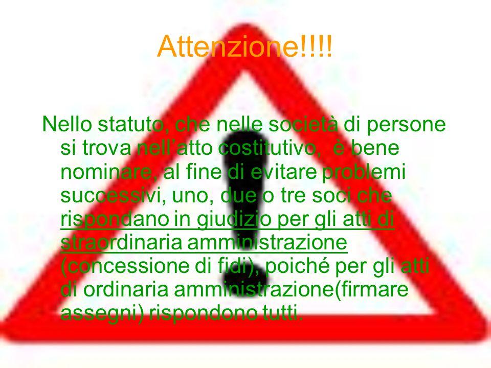 Attenzione!!!!