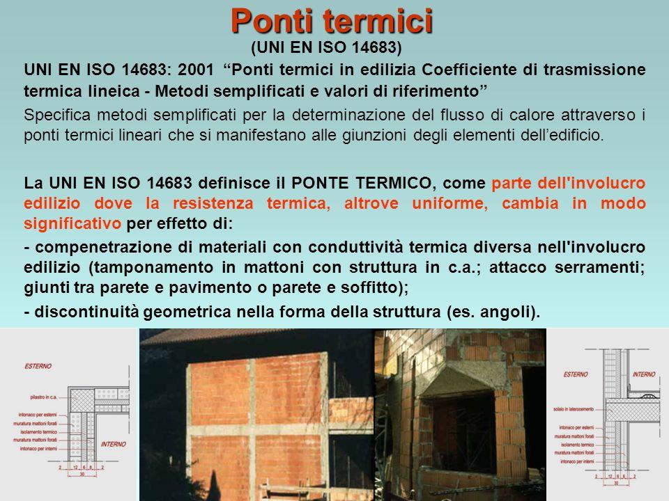 Ponti termici (UNI EN ISO 14683)